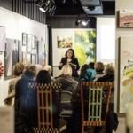Elaine Luther Speech at Oak Park Art League 2/2015