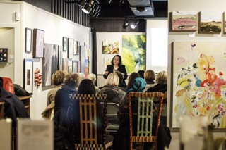 Elaine Luther Speech at Oak Park Art League 2/2015