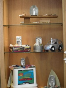 Exhibit of Elaine Luther's Our Ladies of Perpetual Housework at West Englewood Library