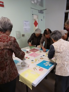 Batik on Canvas at CASL, workshops led by Elaine Luther