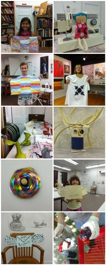 Day Camp Mosaic, Photos by Elaine Luther, copyrights to the respective artists.
