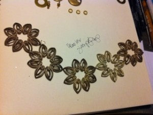 Jewelry Sketch by Elaine Luther 2, Copyright Elaine Luther