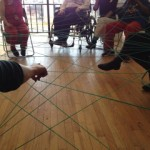 String Game with 20 Neighborhoods at Woman Made Gallery