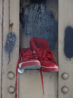 """Red Shoes Downtown"""