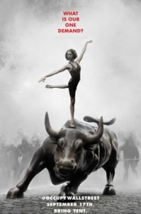Occupy Wall Street Poster by Adbusters