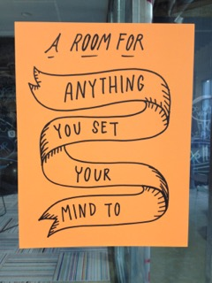 A Room for Anything You Set Your Mind To!
