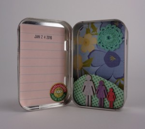Mothers and Daughters Tin by Elaine Luther