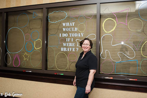 """""""If I Were Brave Wall"""""""