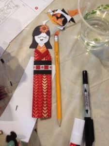 Kimono Doll by student.