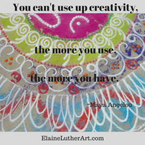 Image Quote You Can't Use Up Creativity