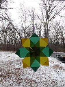 Origami Window Stars 2