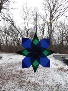 Origami Window Stars 4