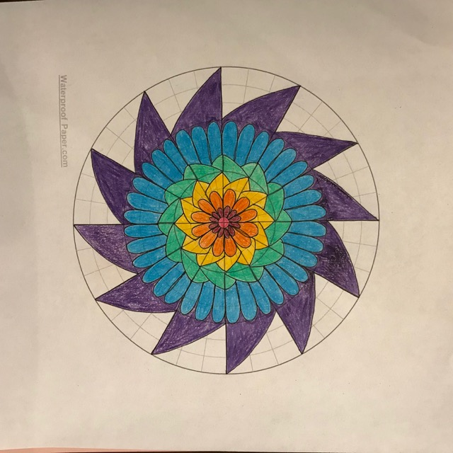 drawing mandalas  easy  fun and relaxing   source for free