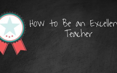 How to be an Excellent Teacher of Your Art or Craft