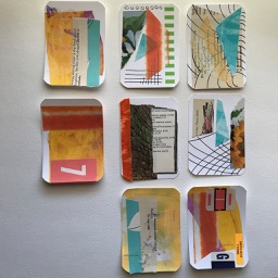 Artist Trading Cards by Elaine Luther.