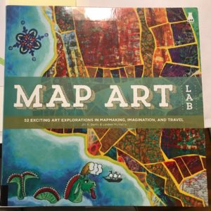 Image of Book Cover of Map Art.