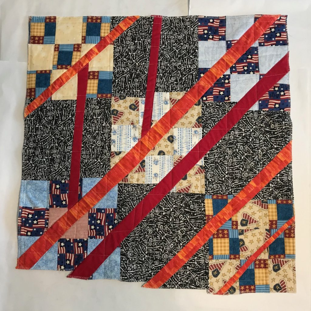 A quilt by Elaine Luther.