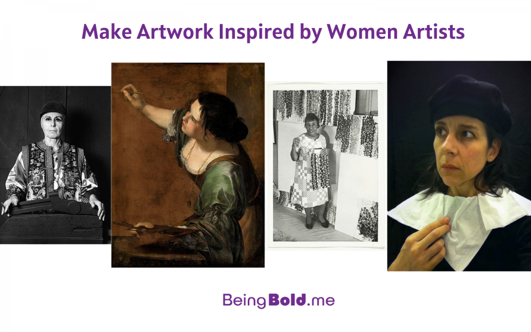 Art Projects Inspired by Women Artists
