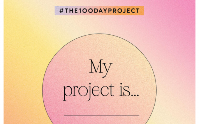 How to Decide What to do for your 100 Day Project