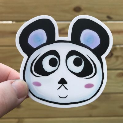Sad Panda Sticker Copyright Maria Romero Luther 2018