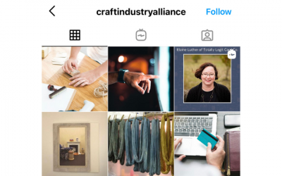 IGTV Interview with Craft Industry Alliance