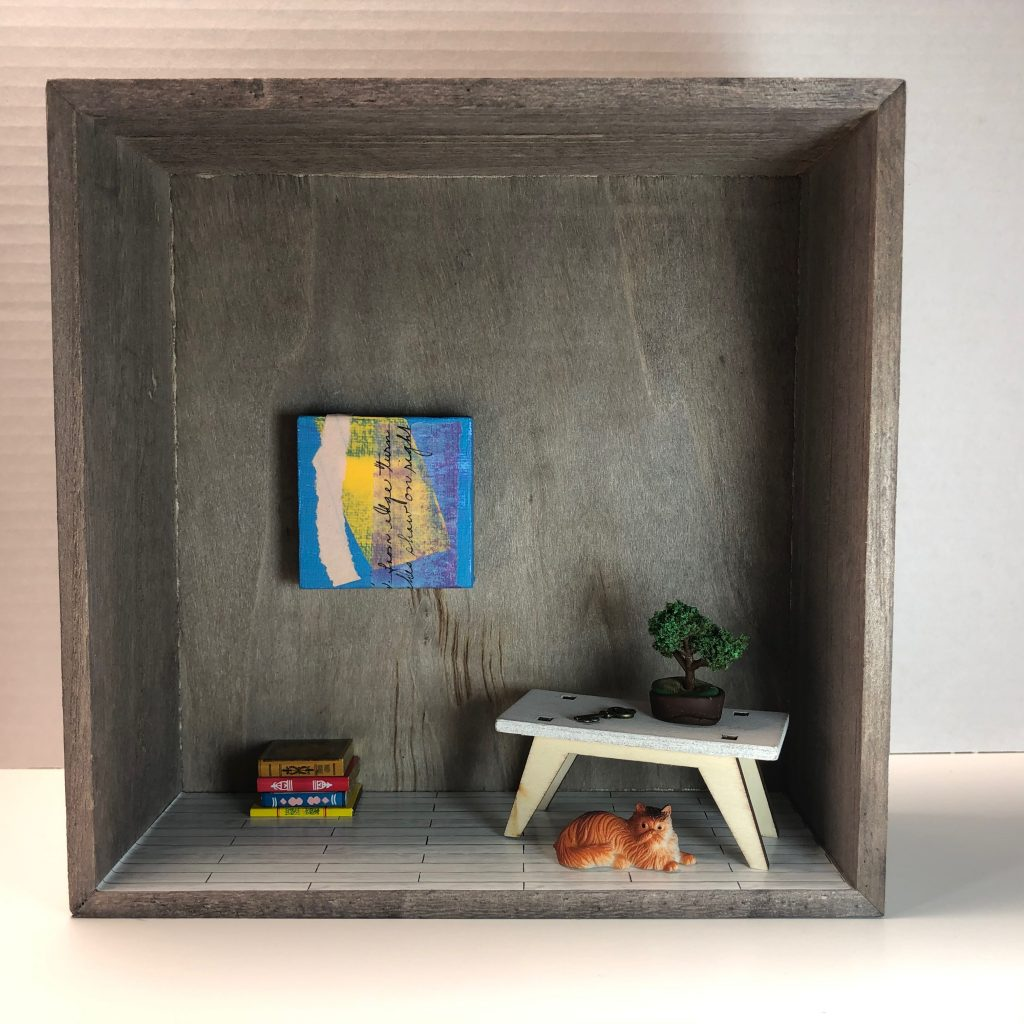 Room Box by Elaine Luther