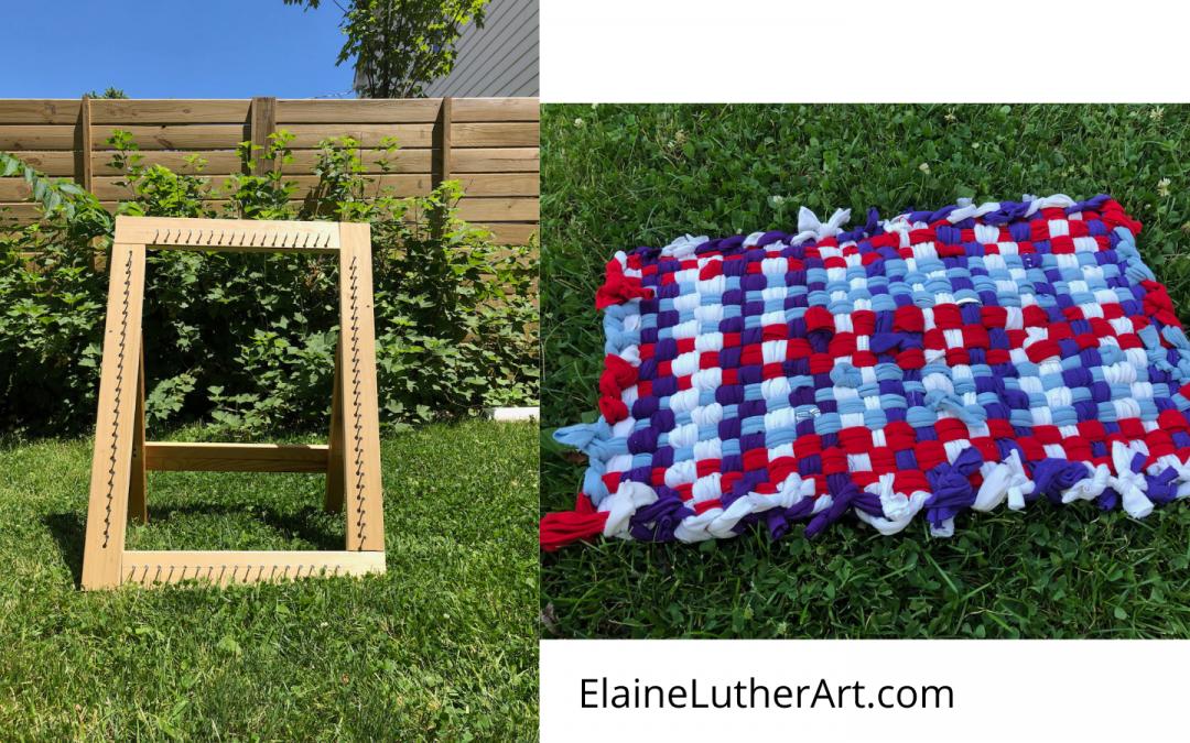 Summer Project: Weaving Potholder Rugs