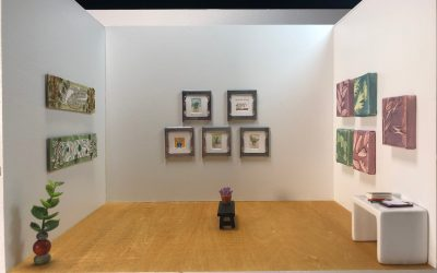 Solo Show: Mel Kolstad's Art in the Angelica Kauffman Gallery