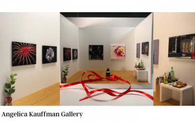 August Group Show: Black & White & Red All Over
