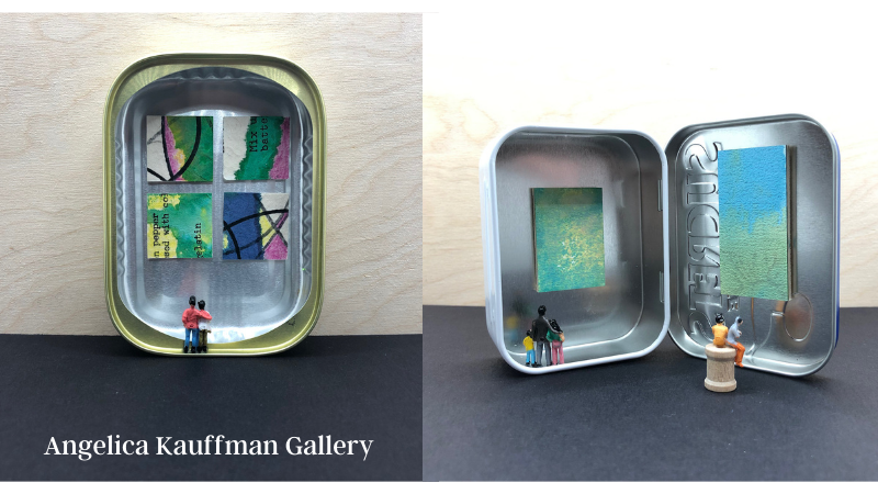 Micro-Micro Galleries: Tiny Art in Mint Tins!