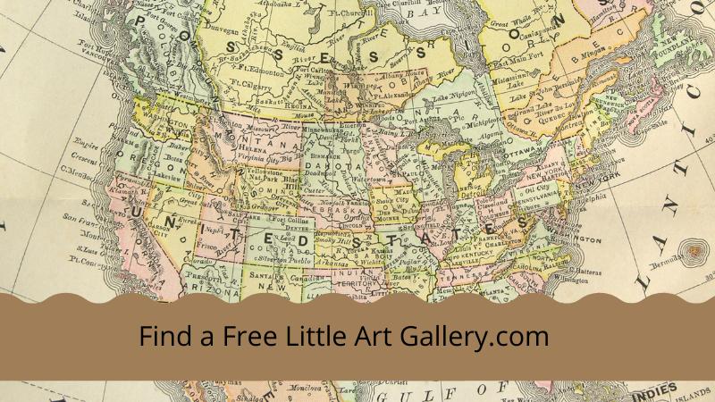 New Website Lists Free Little Art Galleries